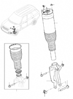 Front Suspension Struts & Air Bags